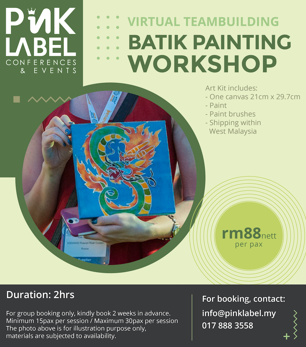 Batik Painting Workshop Poster