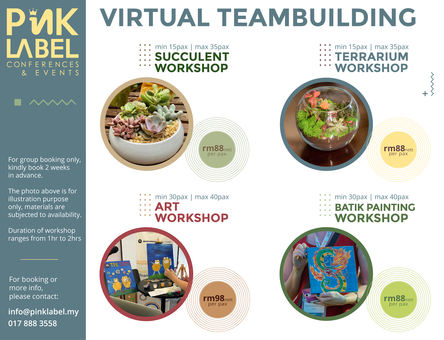 Virtual Teambuilding Packages