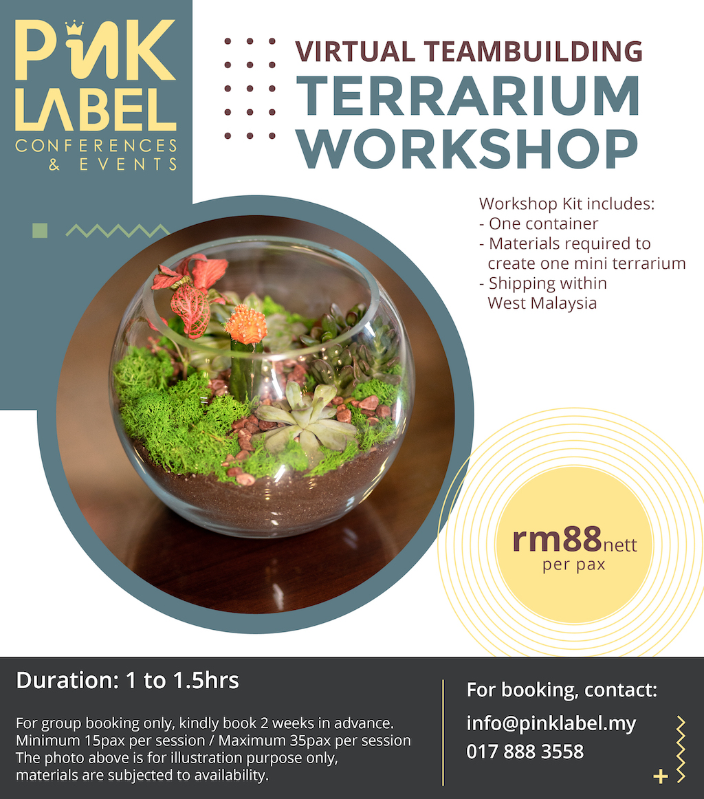 Terrarium Workshop Poster